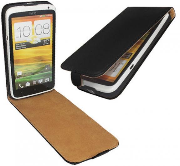 Δερμάτινη προστατευτική Θηκη για HTC One X