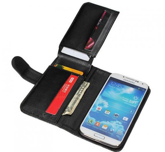Θήκη Πορτοφόλι Flip για Samsung Galaxy S4