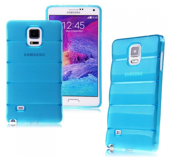 Θήκη σιλικόνης Anti Slip για Samsung για Samsung Galaxy Note 4