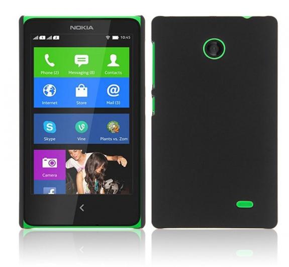Σκληρή θήκη για Nokia X Dual Sim Black RM980 A110